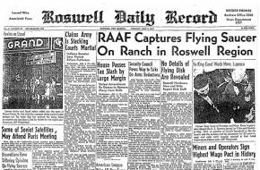 Roswell Daily Record 9 juli 1947 Wikimedia Commons