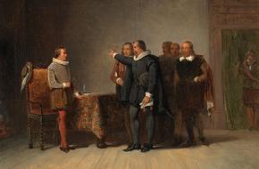 Maurits van Oranje Johan van Oldenbarnevelt stadhouder raadpensionaris