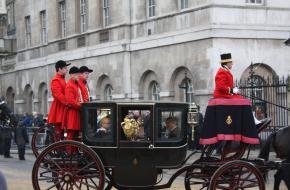 Koninklijke processie
