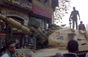 Army Truck Tahrir Square 25th of january 2011