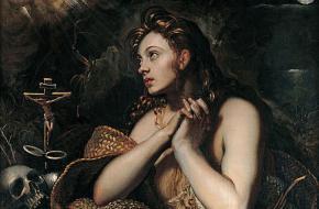 Een berouwvolle Maria Magdalena