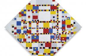 Victory Boogie Woogie. Piet Mondriaan