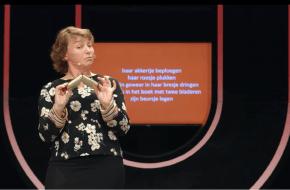 Cultuurhistorica Inger Leemans (VU), de eerste historisch pornologe van Nederland.