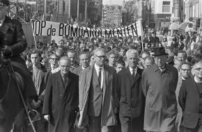 Demonstratie Vietnam Nederland