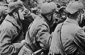 Duitse soldaten in de loopgraven