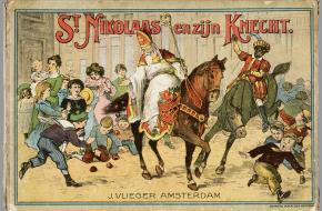 Sinterklaas en zijn knecht