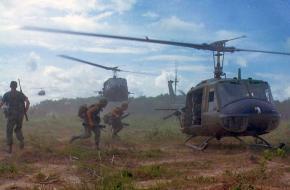Helikopters in Vietnam.