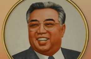 Kim Il-Sung stichter van Noord-Korea