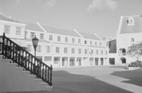 Fort Amsterdam.