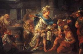 Alexander de Grote hakt een knoop door