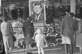 rouw om JFK
