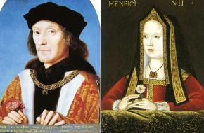 Henry VII en Elizabeth van York