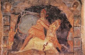Mithras en de stier