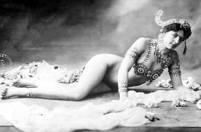 Mata Hari gearresteerd