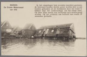 Watersnood in Marken