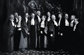Permanente Hof van Internationale Justitie tijdens WOII