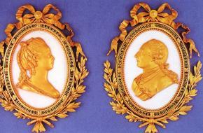 Louis XV en Marie Antoinette