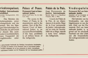 Internationaal hof van justitie tijdens de Tweede Wereldoorlog
