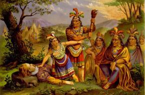 John Smith en Pocahontas