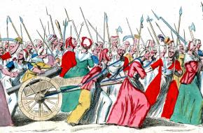 Vrouwenmars op Versailles