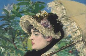 Edouard Manet Le printemps