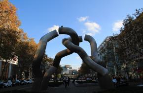 het standbeeld 'Berlin'