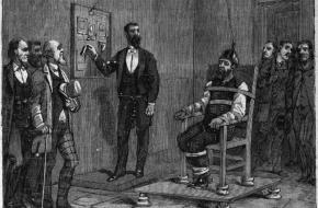 eerste executie elektrische stoel