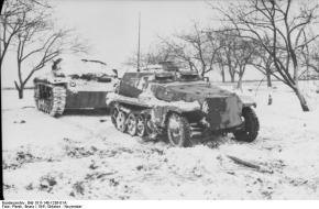 Duitsers staan vast in de kou