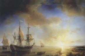 Het schip van Cavalier