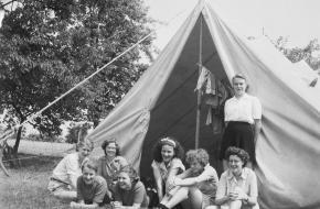 geschiedenis van kamperen