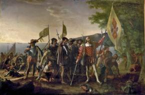 Landing of Columbus (Wikimedia Commons)
