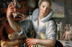 Joachim Wtewael - De Keukenmeid