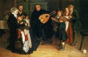 Maarten Luther en zijn familie