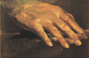 Beethovens hand (schilderij)