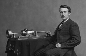 Edison en zijn Phonograph