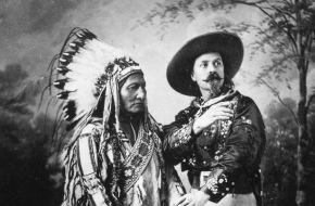 Buffalo Bill en Sitting Bull