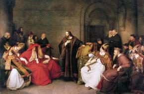 Johannes Hus gold als de voorloper van de reformatie, waar onder andere Maarten Luther bekend mee werd.