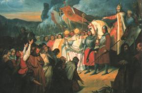 Karel de Grote tot keizer gekroond