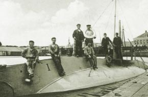 Eerste nederlandse onderzeëer duikboot onderzeeboot