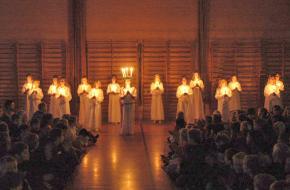 Luciafeest Sint Lucia Scandinavië