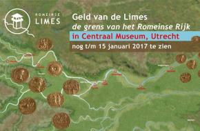 De Limes was een Romeinse grensovergang. Dit is het onderwerp van de tentoonstelling 'Geld van de Limes'.
