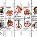 Postzegels Rijksmuseum van Oudheden